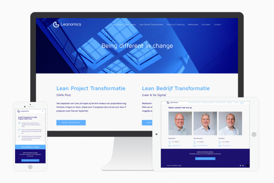 Leanomics | Website