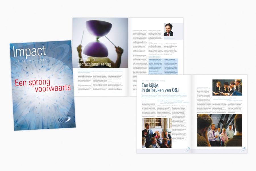 O&i | Identiteit en magazine