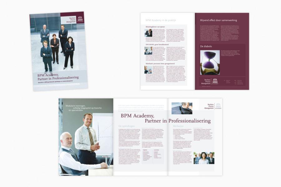 O&i BPM Academy | Identiteit en corporatebrochure