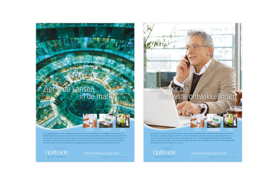 Optitrade Retailgroep | Identiteit en advertentiecampagne