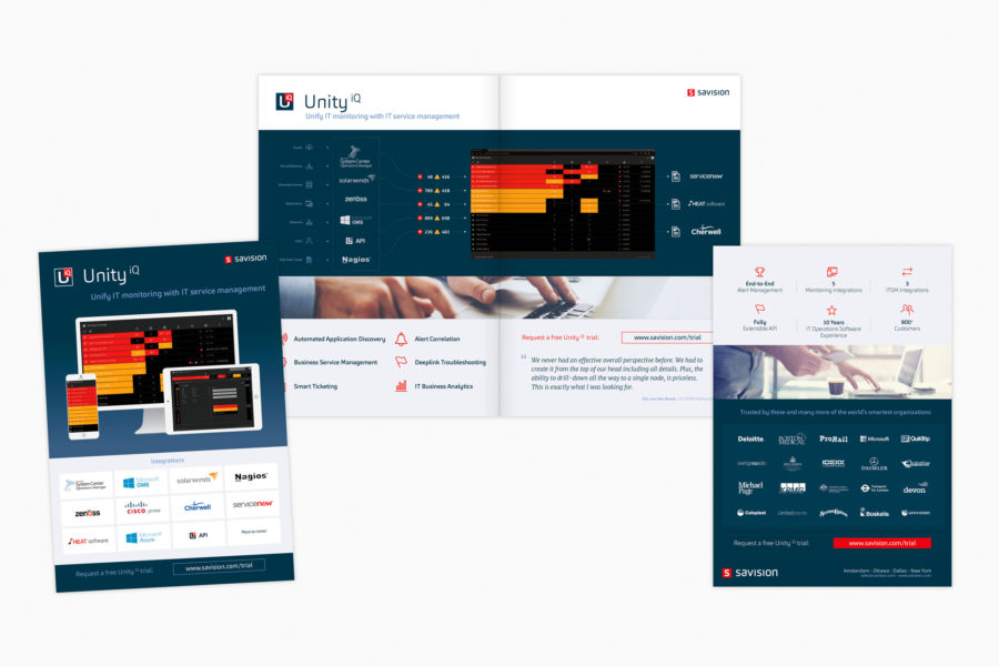 Savision | Identiteit en productbrochure