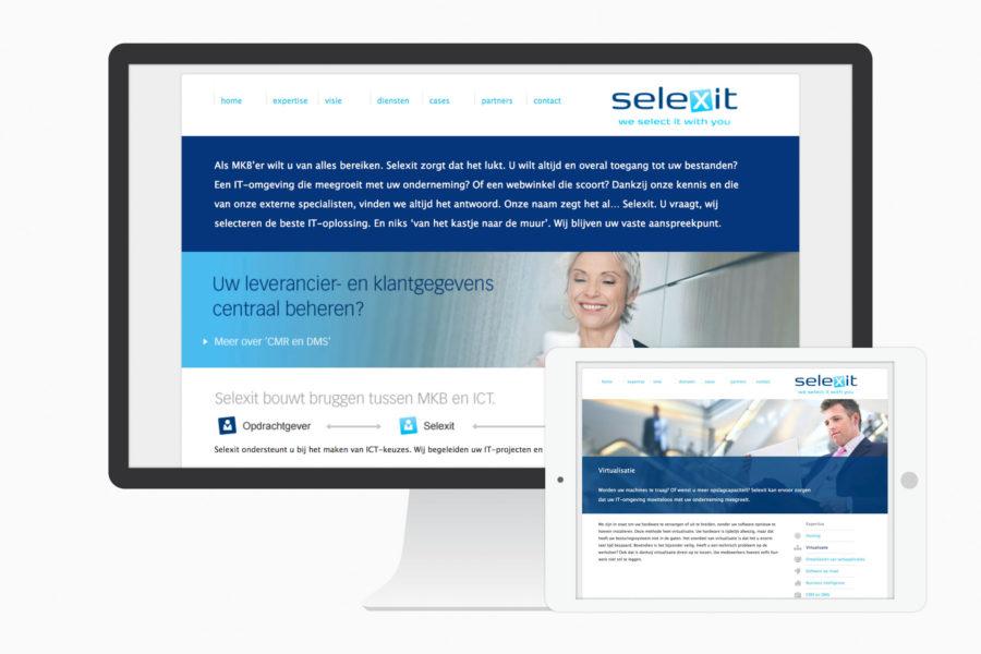 SelexIT | Identiteit en website